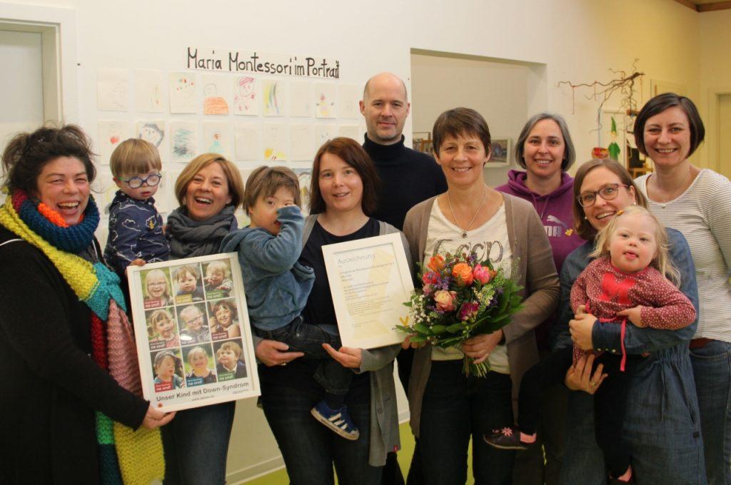 Welt-DS-Tag-2018 im Montessori-Kindergarten Münster